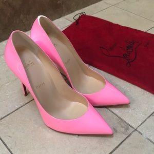 Christian Louboutin Pretty in Pink Heels